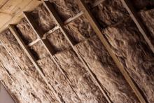 insulation in an attic to improve utility bills