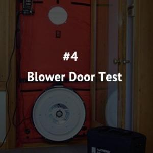 Blower door test: We pressurize your home to figure out just how tight - or not - it really is.